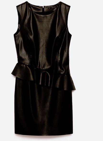 zara little black dress e29.95
