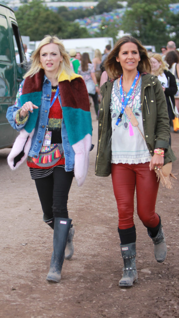 Glastonbury Festival 2014 - Celebrity sightings and atmosphere - Day 2 Featuring: Fearne Cotton,Amanda Byram Where: Glastonbury, United Kingdom When: 27 Jun 2014 Credit: WENN.com