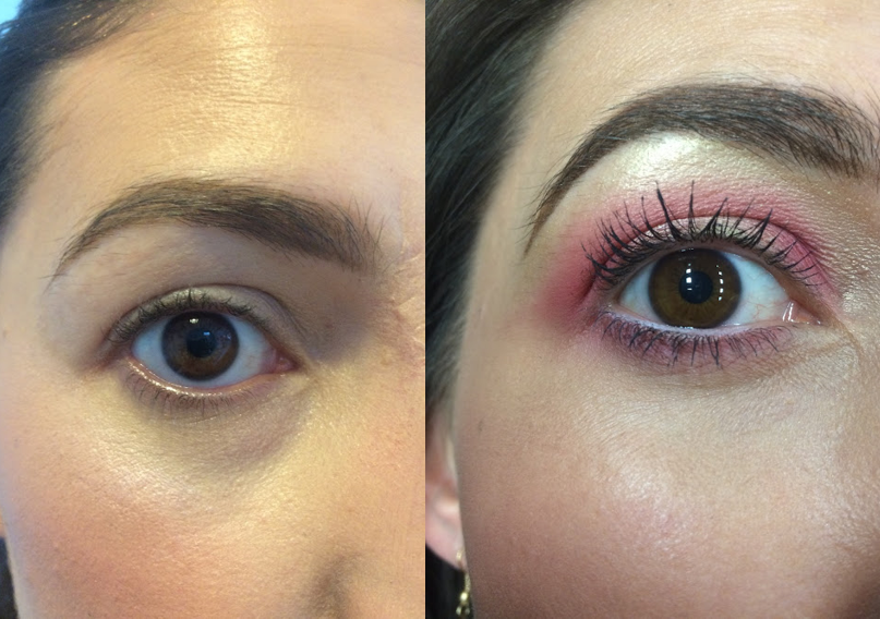 Catrice budget mascara before and after