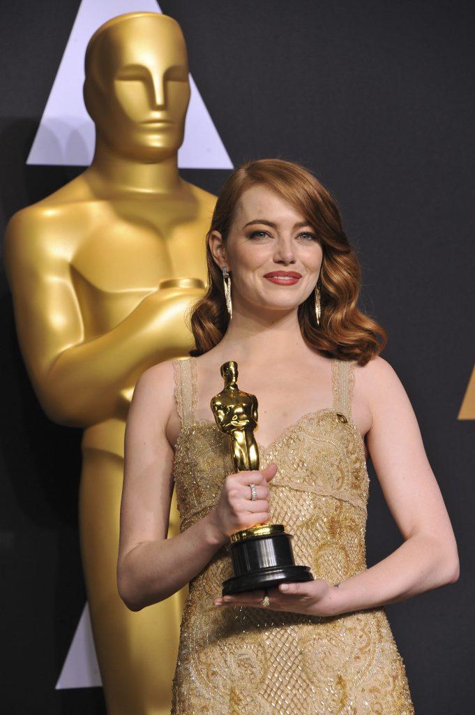 Emma Stone Oscars makeup look