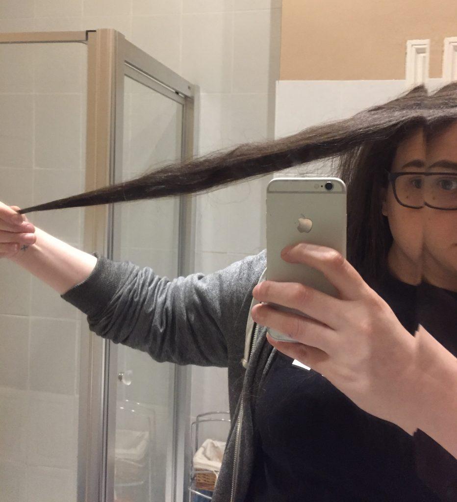 Pre hair cut