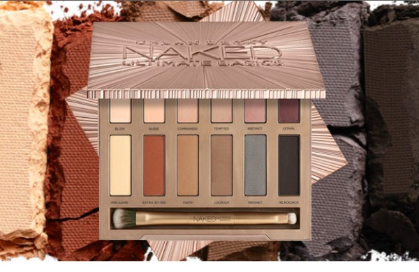 urban decay naked matte eyeshadow palette