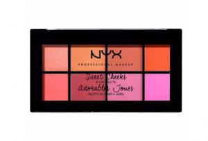 NYX sweetcheeks palett blush colour