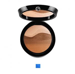 Georgio Armani Sunrise palette makeup bag