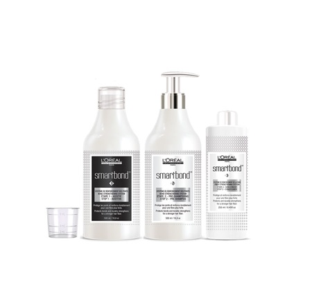 L'Oréal Smartbond three part system