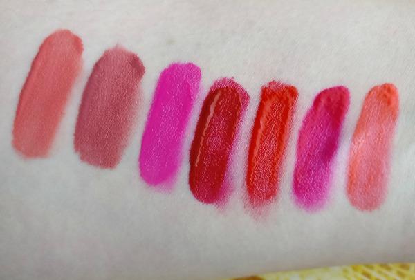 juicy matte lip colours