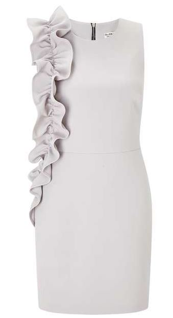 miss selfridge ruffle dress summer wardrobe
