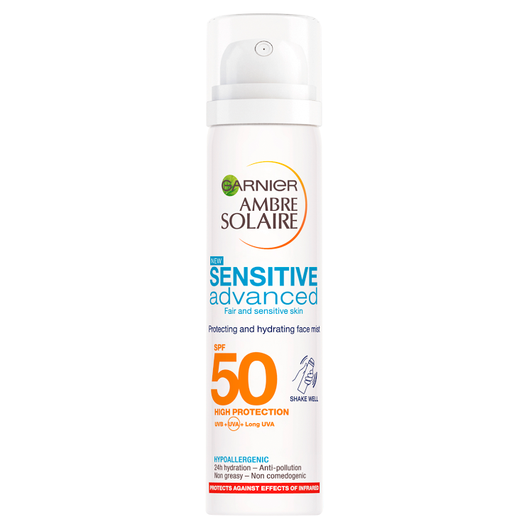 garnier sensitive advanced sunscreen spf 50