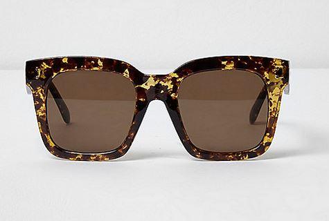 river island tortoiseshell sunglasses
