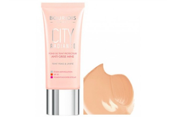 bourjois city radiance SPF foundations