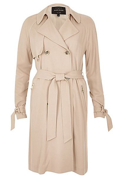 river island trench one coat