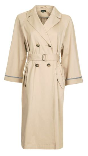 topshop trench one coat