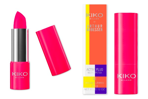 KIKO-active-fluo-festival-season-makeup-lipstick