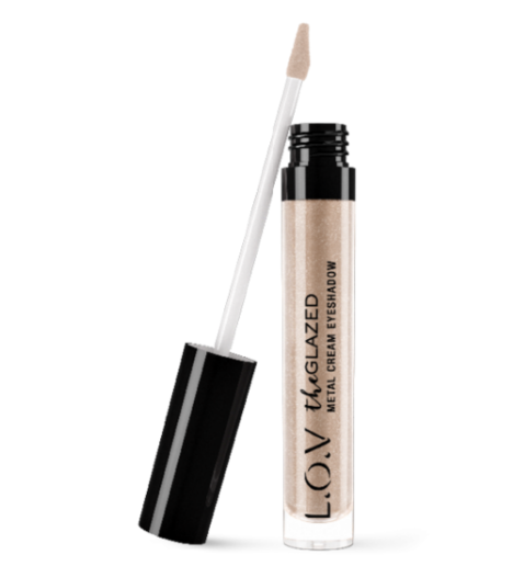 easiest way to apply eyeshadow lov glazed metal cream eyeshadow