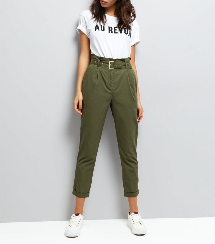 new look khaki pants summer style