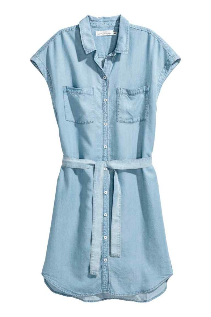 hm shirt dress summer style