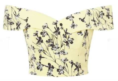 miss selfridge bardot top summer sales