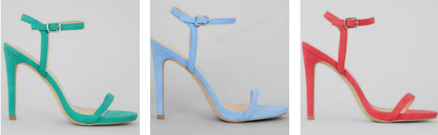 NEW LOOK SUMMER HEELS