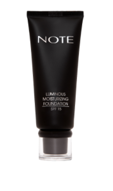 Note luminous glow dewy skin foundation