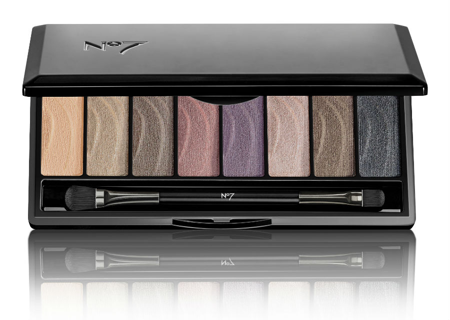 no7 smokey palette eye makeup collection