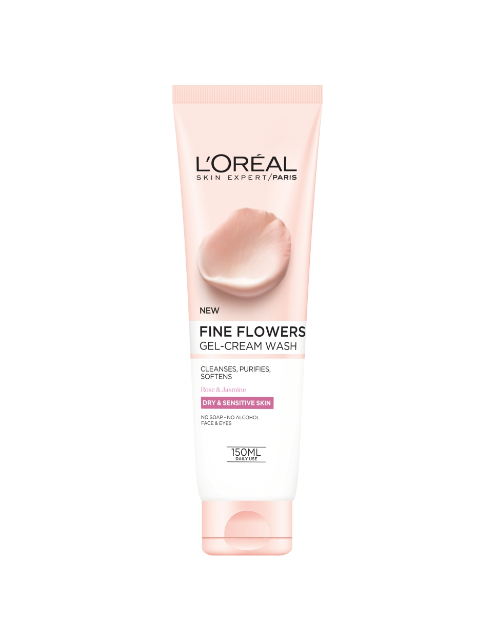 loreal fine flowers cleansing face washes