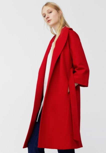 This red coat will be the sale buy you won't regret come winter ...