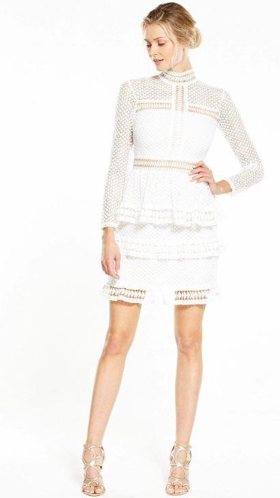 white dresses littlewoods 1