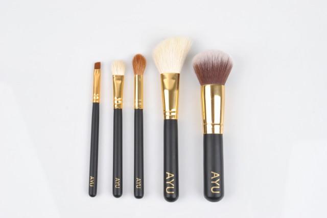 AYU makeup brushes travel-set-