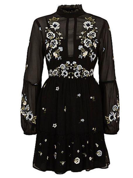 river island smock dress