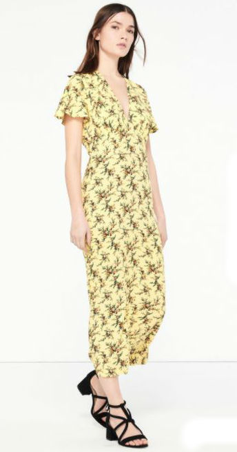 sandro amy huberman dress