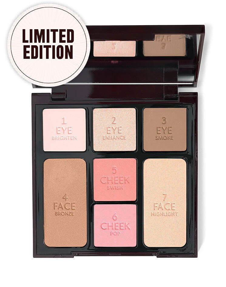 chatlotte tilbury instant look in a palette new products