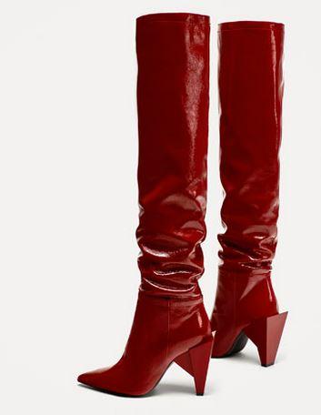 zara boots in store