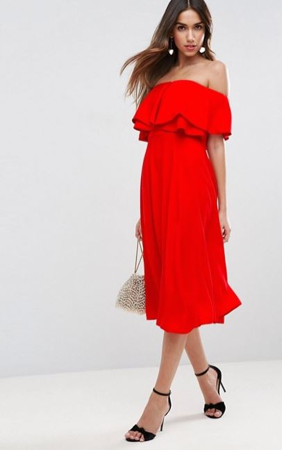 asos Kate Middleton red dress 3