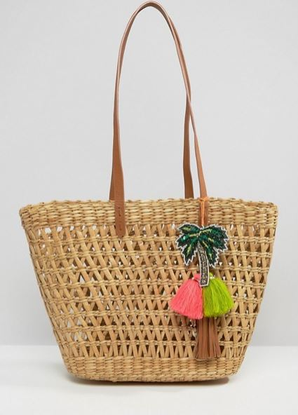asos basket bag