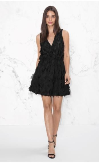 other stories black wedding guest dress