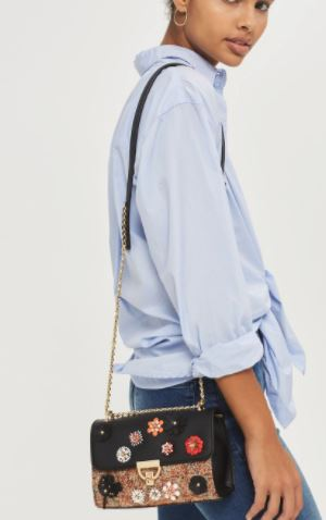 topshop statement bag