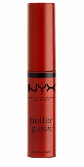 NYX butter gloss strawberry jam