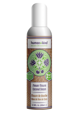 Human and kind shower mousse coconut dream