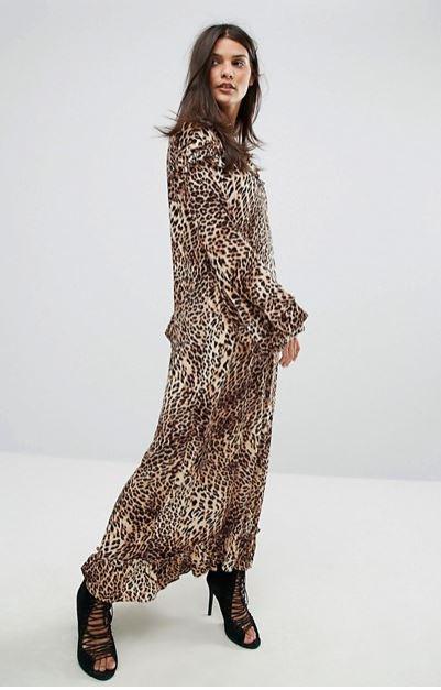 asos leopard print