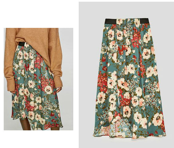 zara skirt olivia palermo fashion week