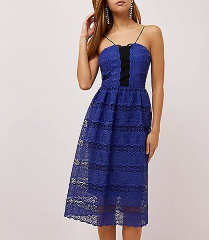 river island wedding guest dress