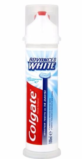 Colgate advanced whiter teeth