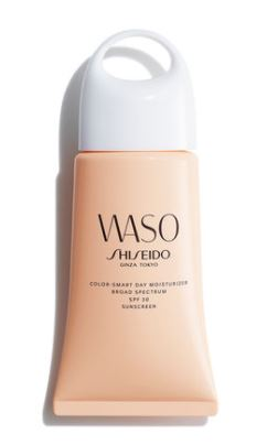 waso shiseido color-smart day moisturiser