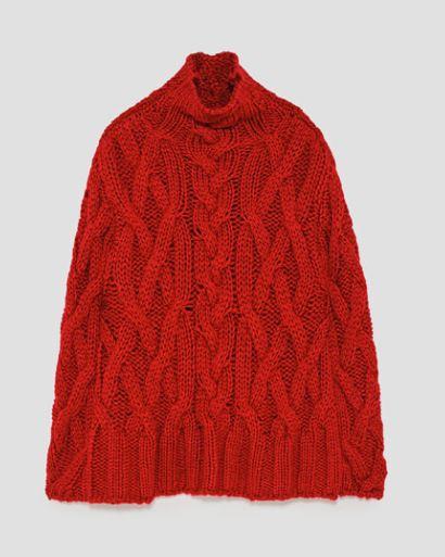 zara oversize jumper