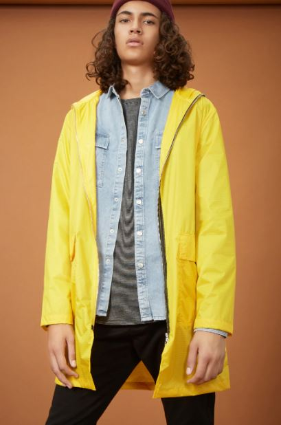 yellow raincoats forever21