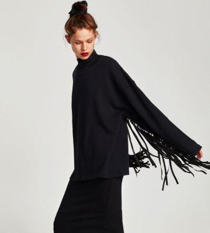 zara jumper autumn wardrobe