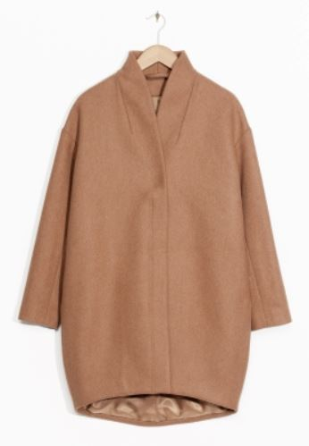 other stories camel coat