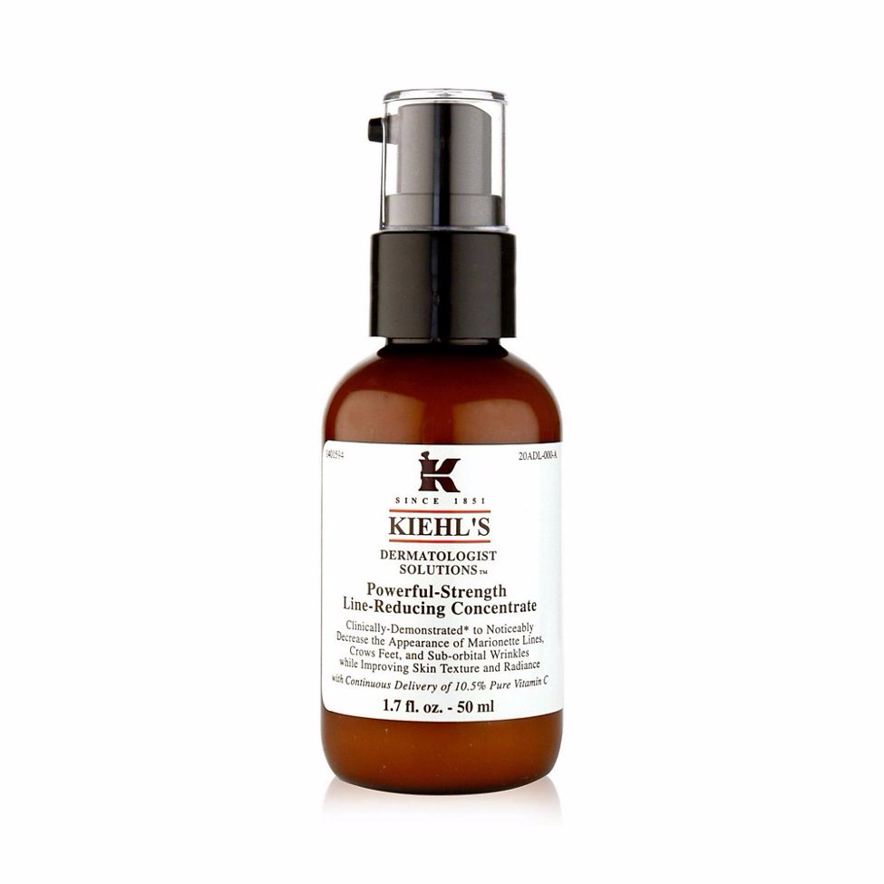 Kiehls powerful line reducing concentrate key skincare ingredient