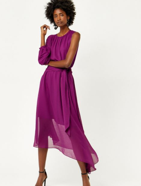 Wear this dress to an autumn wedding to stand out from the crowd ...