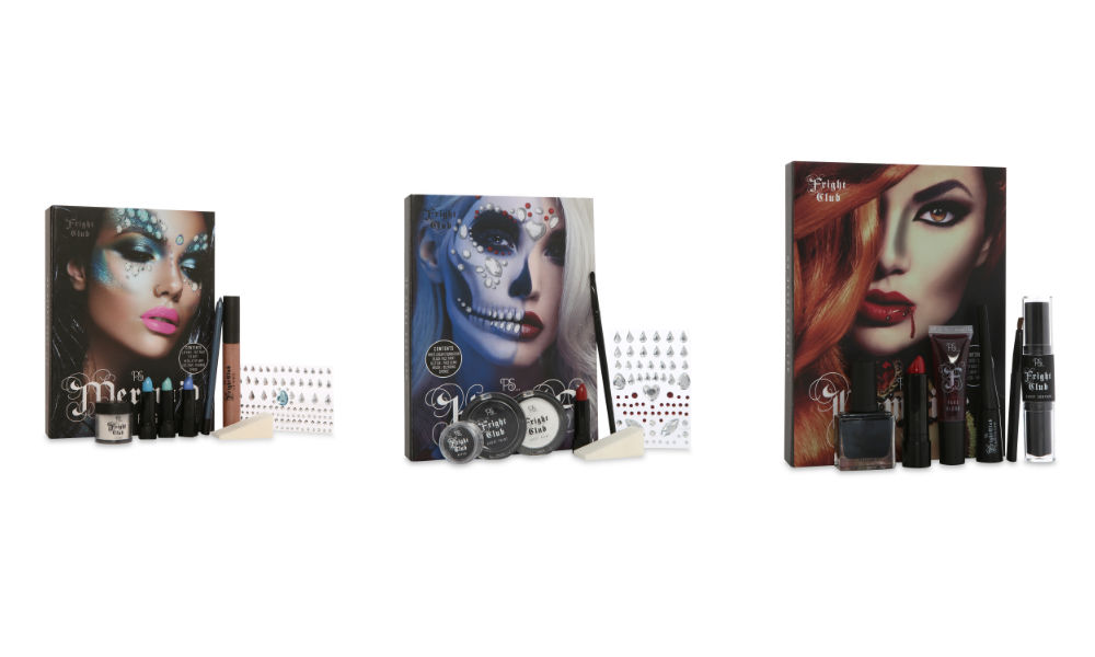 penneys fright club halloween makeup kits